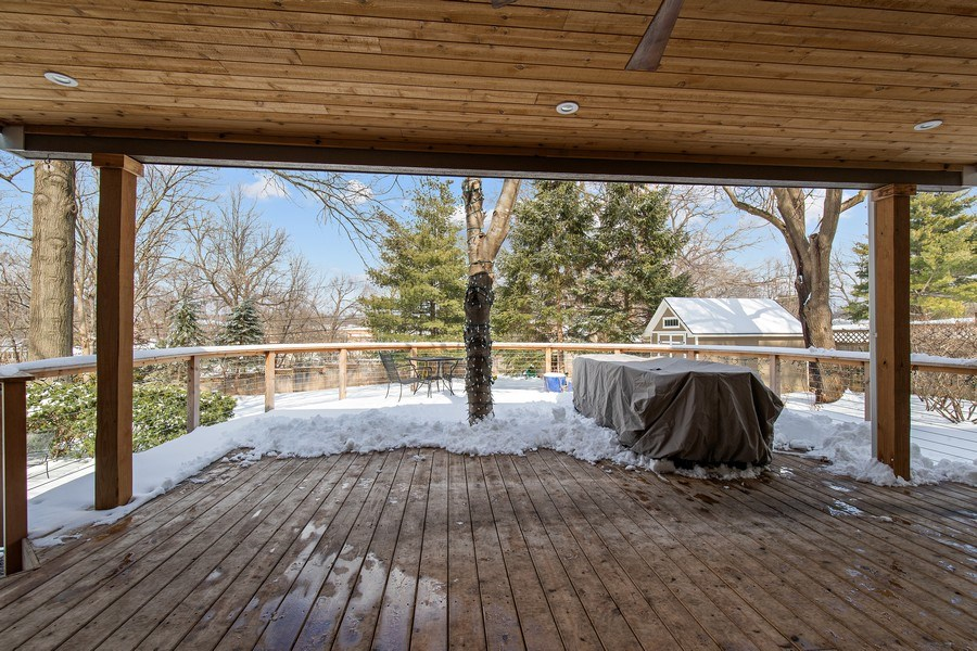 Real Estate Photography - 6108 W 61st Terrace, Mission, KS, 66202 - Wonderful outdoor living/entertaining space