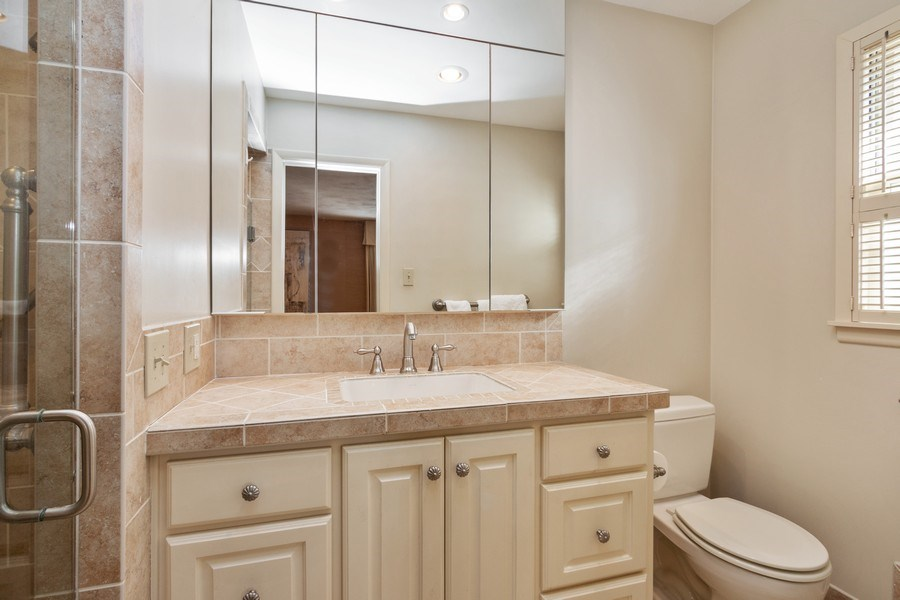 Real Estate Photography - 8321 Roe Ave, Prairie Village, KS, 66207 - Master Bathroom