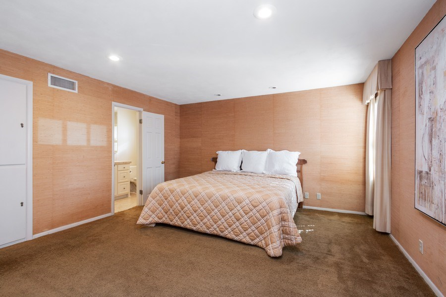 Real Estate Photography - 8321 Roe Ave, Prairie Village, KS, 66207 - Master Bedroom