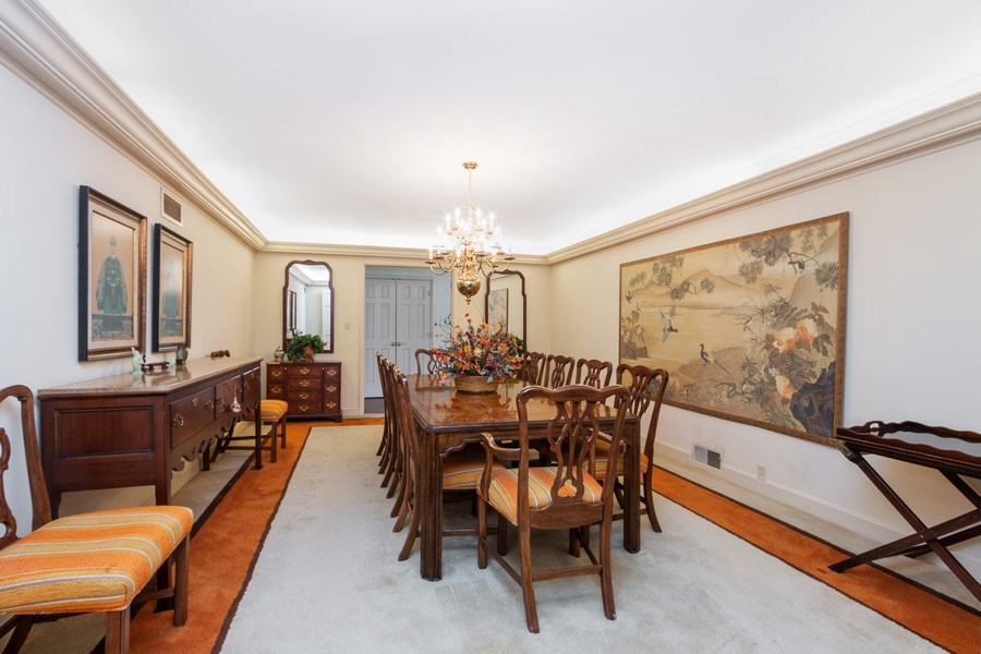 Real Estate Photography - 8321 Roe Ave, Prairie Village, KS, 66207 - Dining Room