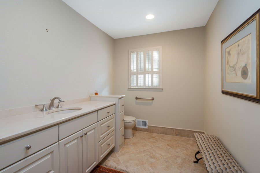 Real Estate Photography - 8321 Roe Ave, Prairie Village, KS, 66207 - Bathroom