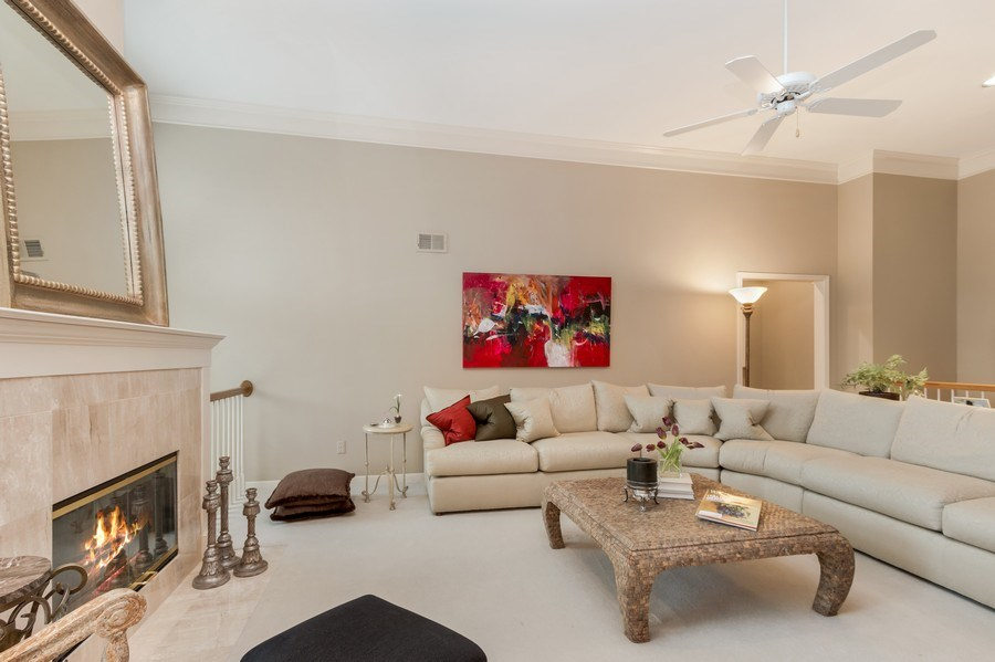 Real Estate Photography - 8811 W 142 Ct, Overland Park, KS, 66221 - Living Room