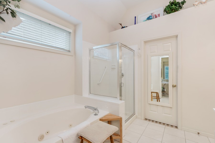 Real Estate Photography - 8811 W 142 Ct, Overland Park, KS, 66221 - Master Bathroom