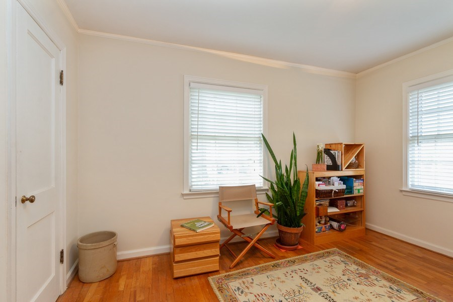 Real Estate Photography - 6608 W 65th Terrace, Overland Park, KS, 66202 - Bedroom 3 - Office