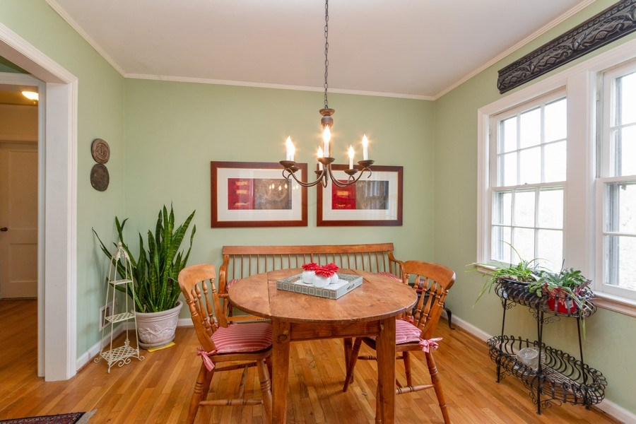 Real Estate Photography - 6608 W 65th Terrace, Overland Park, KS, 66202 - Dining Room
