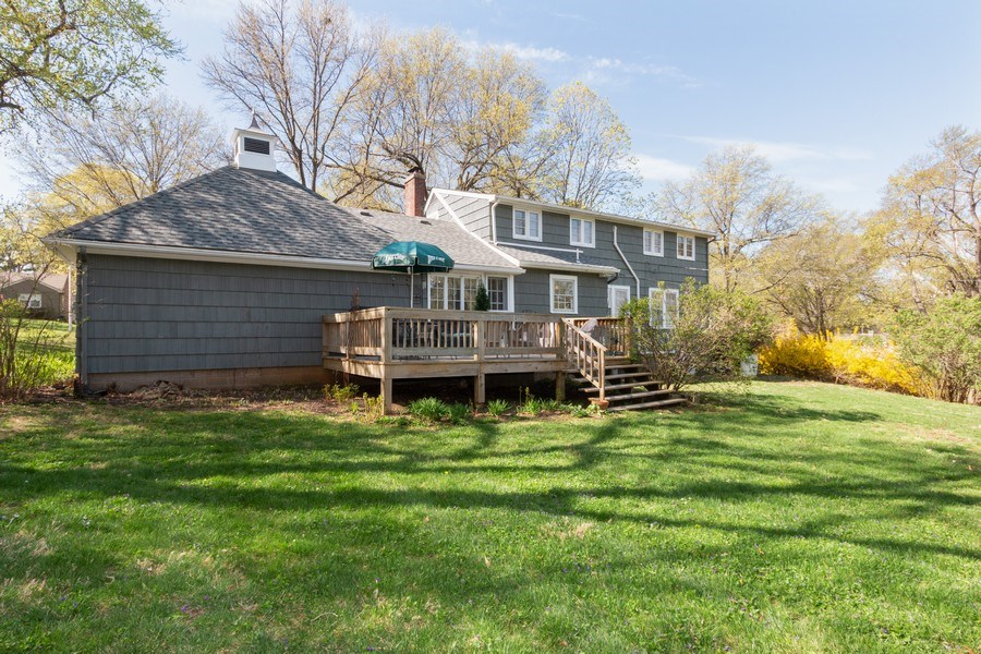 Real Estate Photography - 6608 W 65th Terrace, Overland Park, KS, 66202 - Rear View