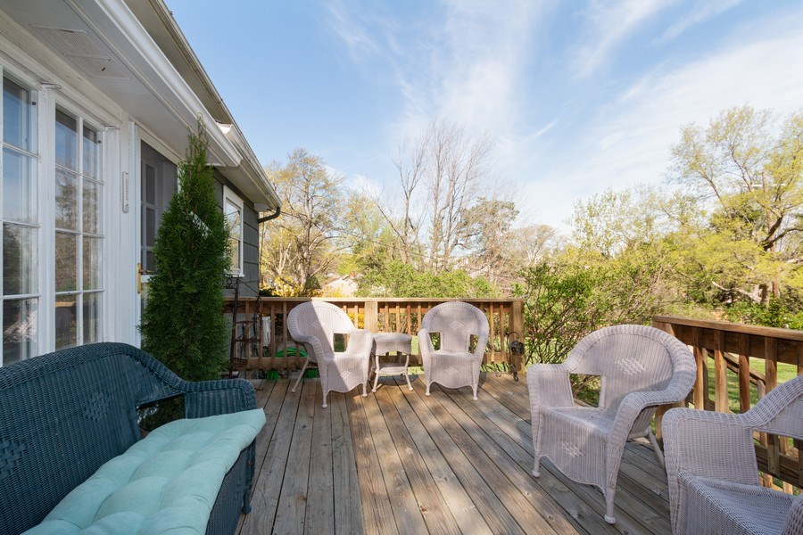 Real Estate Photography - 6608 W 65th Terrace, Overland Park, KS, 66202 - Deck