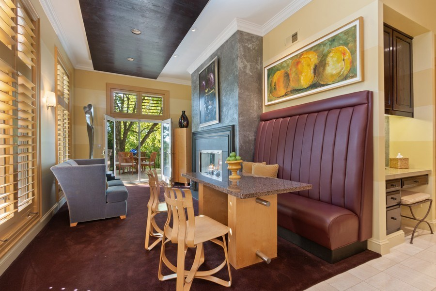 Real Estate Photography - 5300 Sunset Dr, 5, Kansas City, MO, 64112 - Breakfast Area