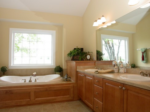 Real Estate Photography - 6463 Torrington, Medina, OH, 44256 - Master Bathroom