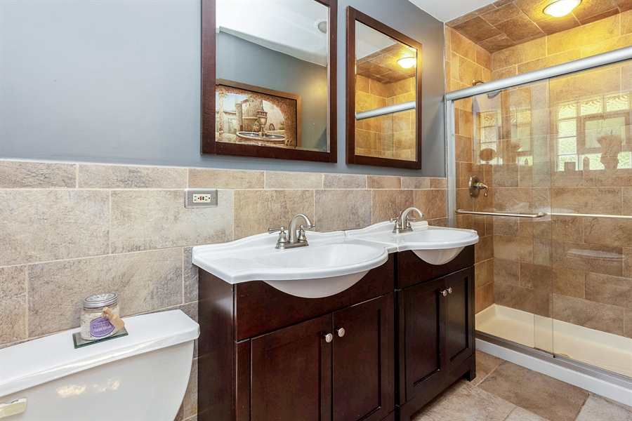 Real Estate Photography - 10602 S Longwood Dr, Chicago, IL, 60643 - Master Bathroom