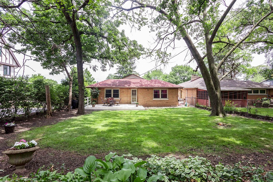 Real Estate Photography - 10602 S Longwood Dr, Chicago, IL, 60643 - Back Yard