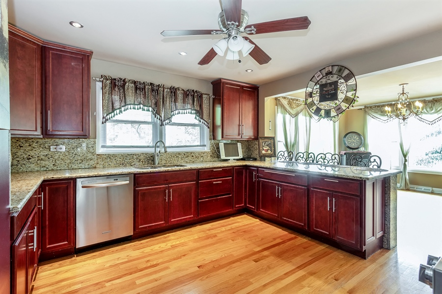 Real Estate Photography - 10602 S Longwood Dr, Chicago, IL, 60643 - Kitchen