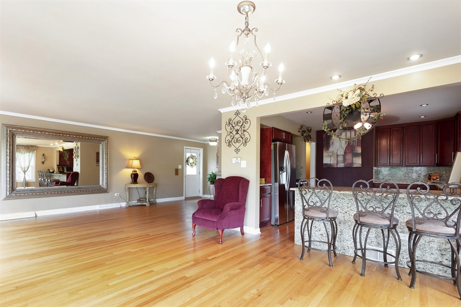 Real Estate Photography - 10602 S Longwood Dr, Chicago, IL, 60643 - Living Room/Dining Room