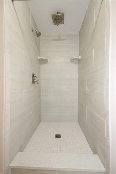 Real Estate Photography - 9006 Parkside Ave, Oak Lawn, IL, 60453 - Master Bathroom
