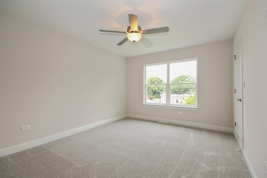 Real Estate Photography - 9006 Parkside Ave, Oak Lawn, IL, 60453 - Bedroom