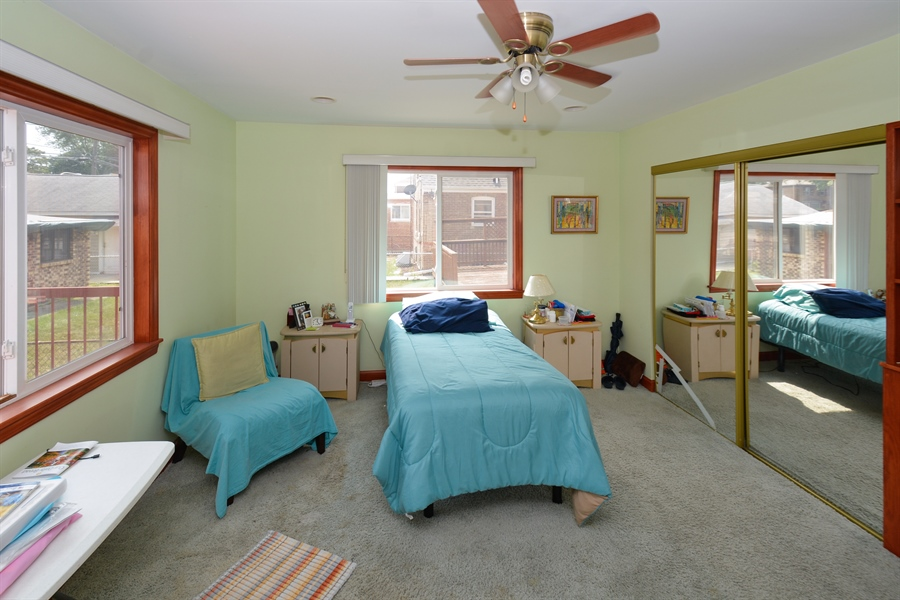 Real Estate Photography - 8147 S Talman Ave, Chicago, IL, 60652 - Master Bedroom