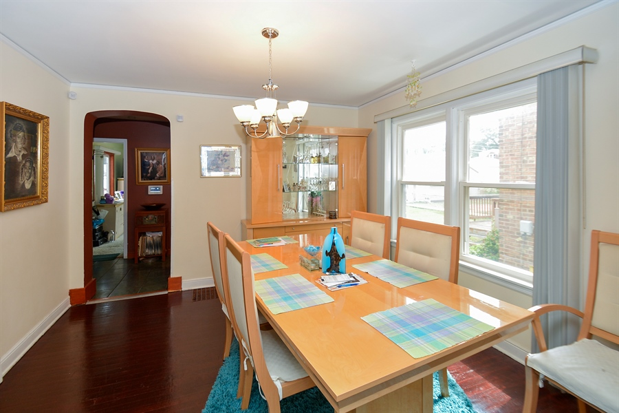 Real Estate Photography - 8147 S Talman Ave, Chicago, IL, 60652 - Dining Room