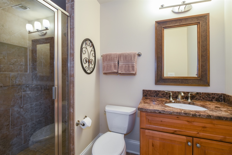 Real Estate Photography - 26053 West Sunset Road, Barrington, IL, 60010 - 4th Bathroom