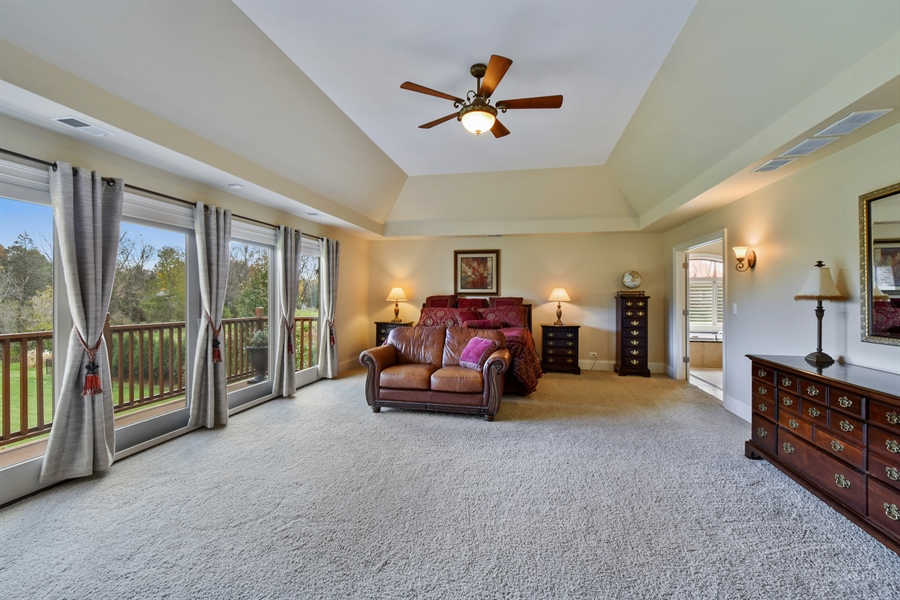 Real Estate Photography - 26053 West Sunset Road, Barrington, IL, 60010 - Master Bedroom