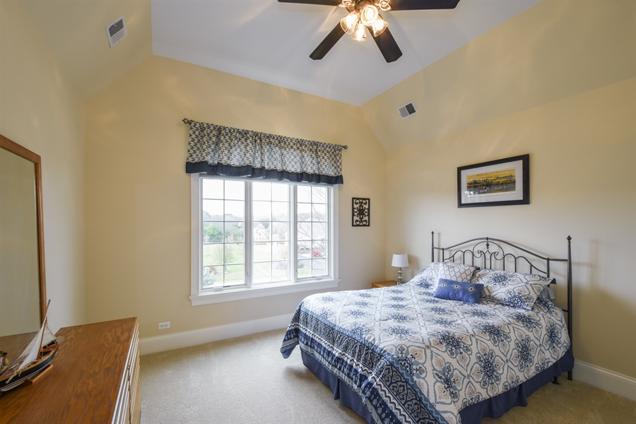 Real Estate Photography - 26053 West Sunset Road, Barrington, IL, 60010 - 2nd Bedroom