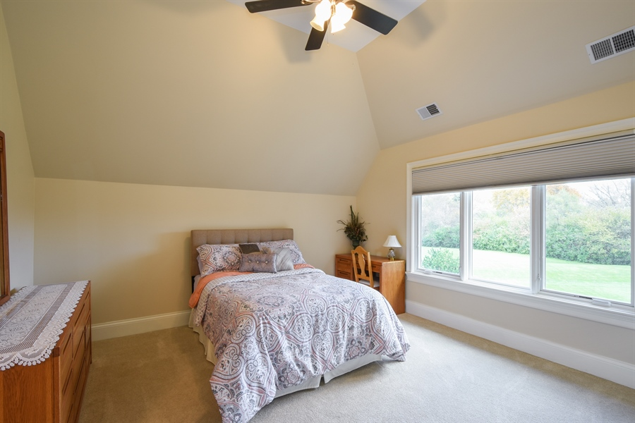 Real Estate Photography - 26053 West Sunset Road, Barrington, IL, 60010 - 3rd Bedroom