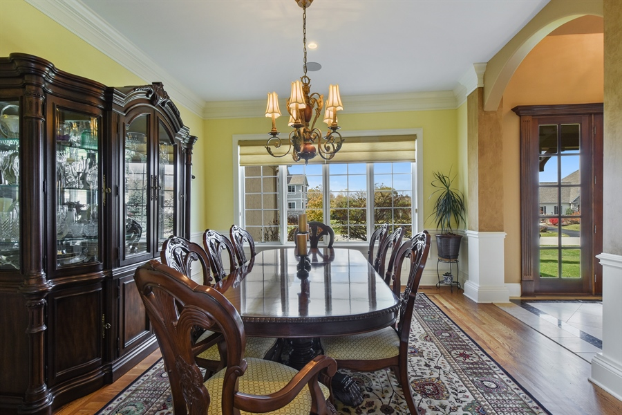 Real Estate Photography - 26053 West Sunset Road, Barrington, IL, 60010 - Dining Room
