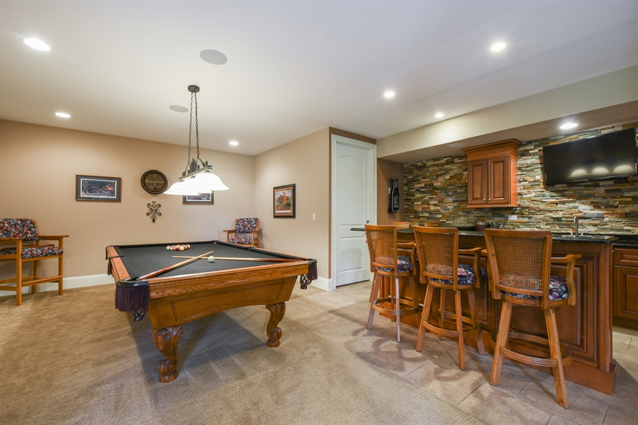 Real Estate Photography - 26053 West Sunset Road, Barrington, IL, 60010 - Basement