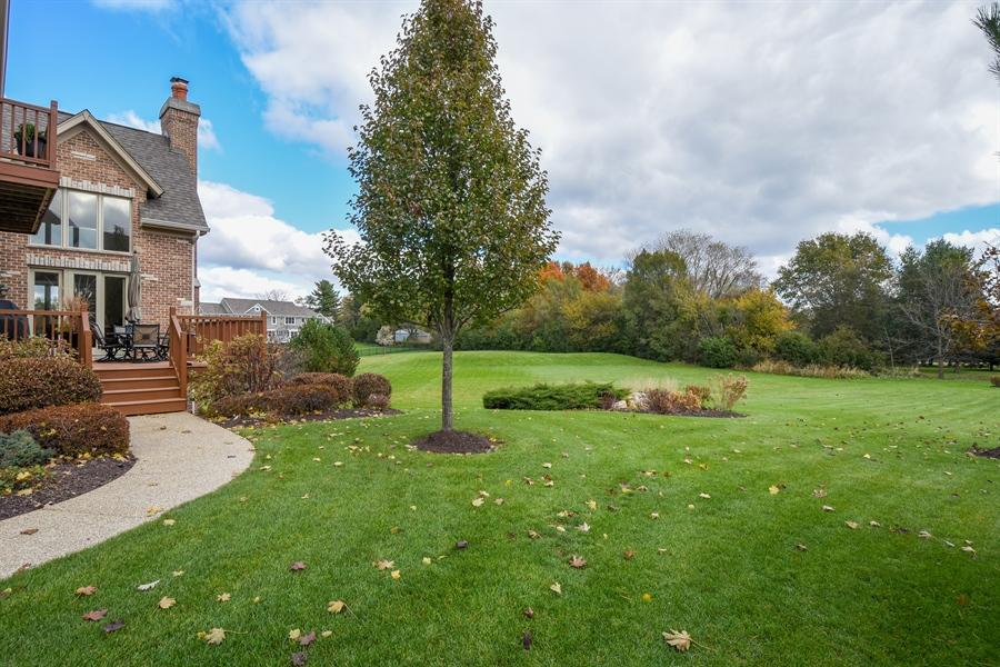 Real Estate Photography - 26053 West Sunset Road, Barrington, IL, 60010 - Back Yard
