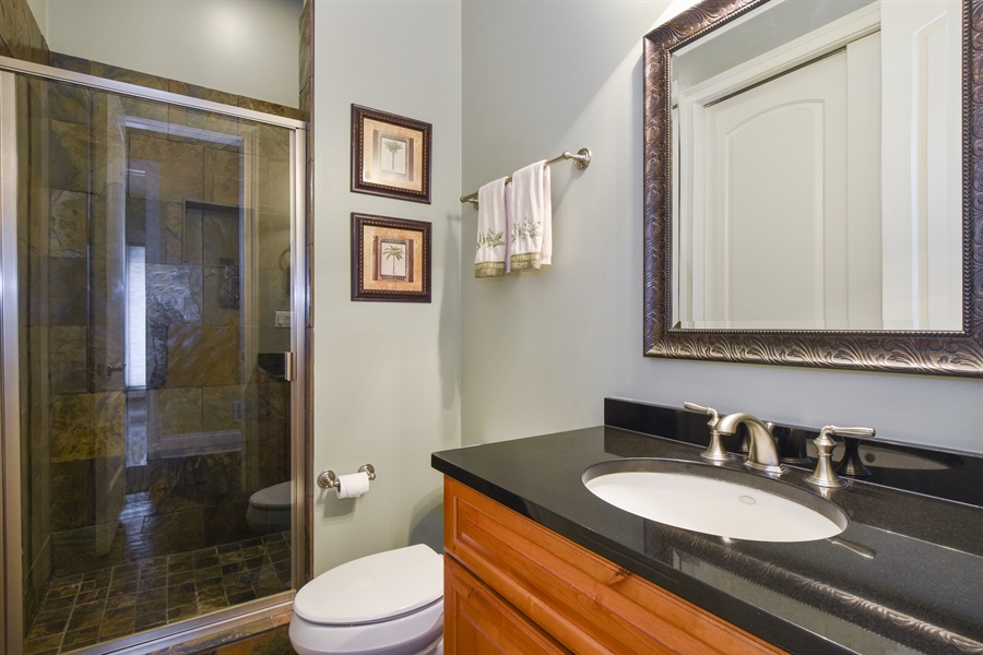 Real Estate Photography - 26053 West Sunset Road, Barrington, IL, 60010 - Bathroom