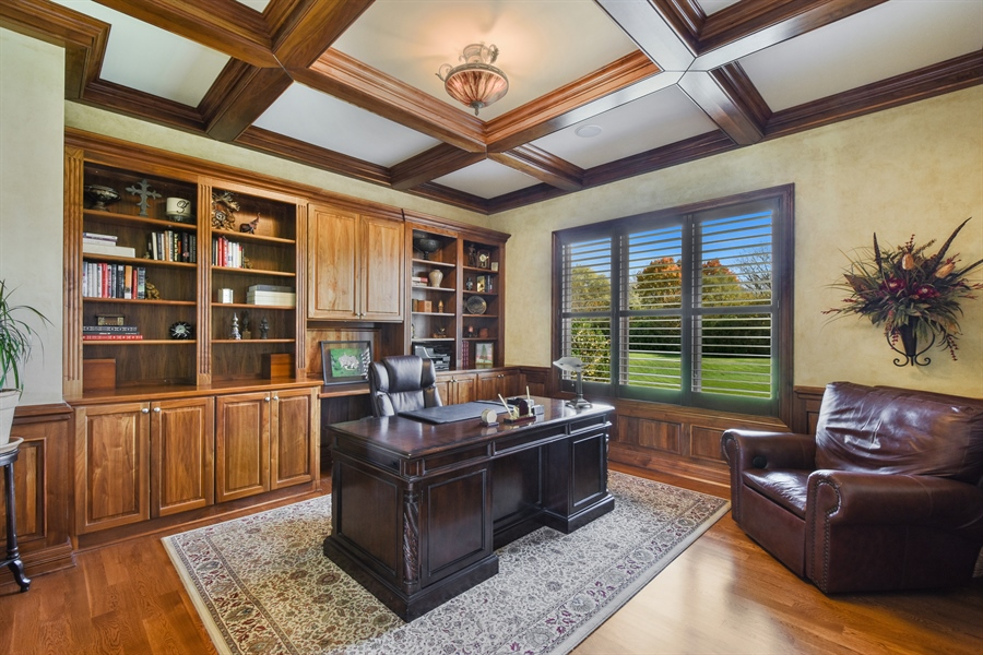 Real Estate Photography - 26053 West Sunset Road, Barrington, IL, 60010 - Office