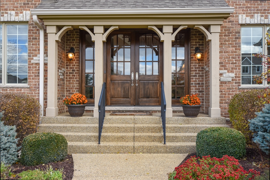 Real Estate Photography - 26053 West Sunset Road, Barrington, IL, 60010 - Front View