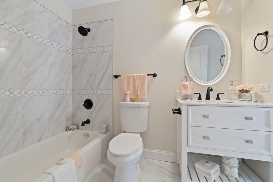 Real Estate Photography - 787 Poppy Lane, Bartlett, IL, 60103 - Master Bathroom