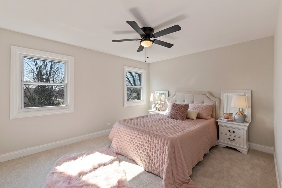 Real Estate Photography - 787 Poppy Lane, Bartlett, IL, 60103 - Master Bedroom