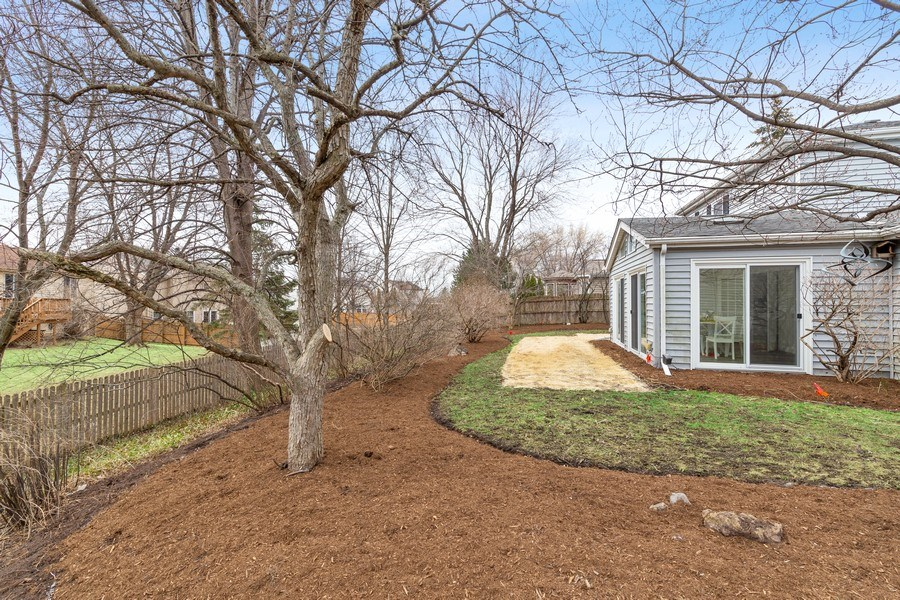 Real Estate Photography - 787 Poppy Lane, Bartlett, IL, 60103 - Back Yard