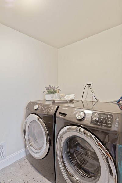Real Estate Photography - 787 Poppy Lane, Bartlett, IL, 60103 - Laundry Room