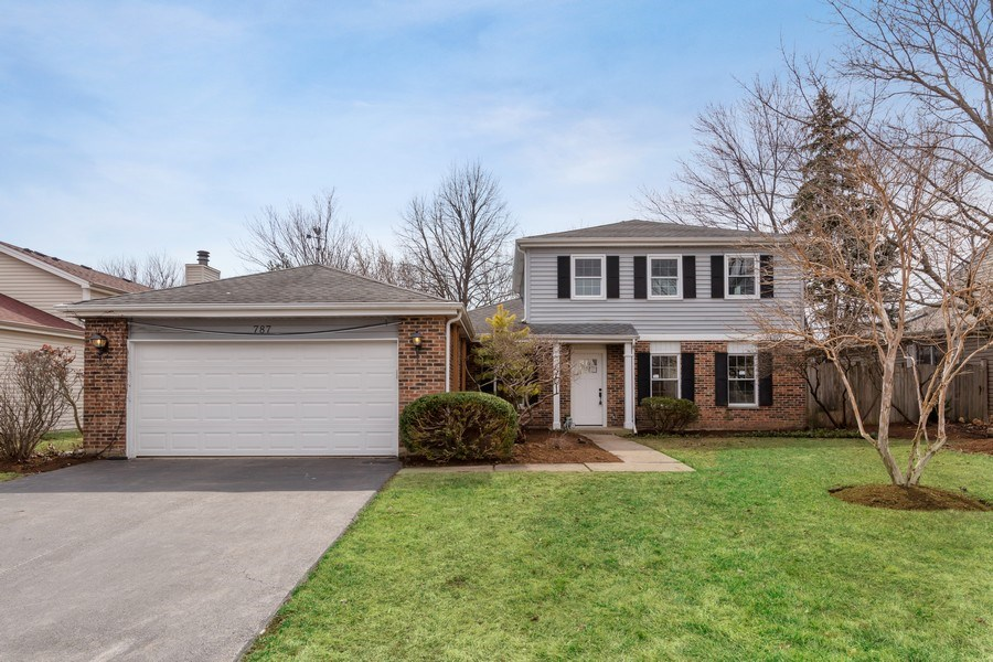 Real Estate Photography - 787 Poppy Lane, Bartlett, IL, 60103 - Front View