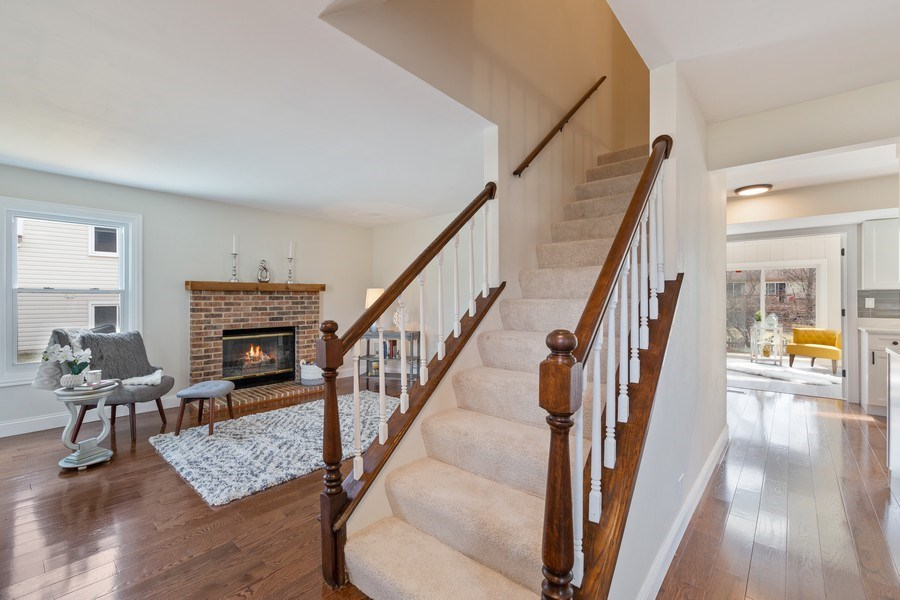 Real Estate Photography - 787 Poppy Lane, Bartlett, IL, 60103 - Staircase