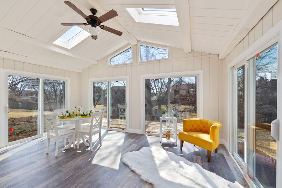 Real Estate Photography - 787 Poppy Lane, Bartlett, IL, 60103 - Sun Room