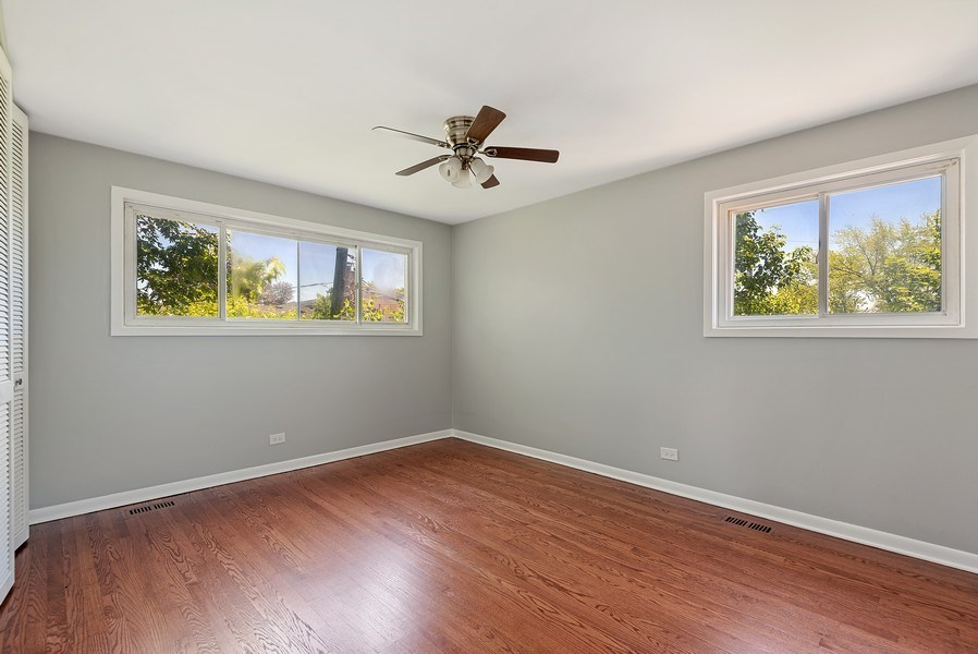 Real Estate Photography - 8337 Harrison St, Niles, IL, 60714 - Master Bedroom