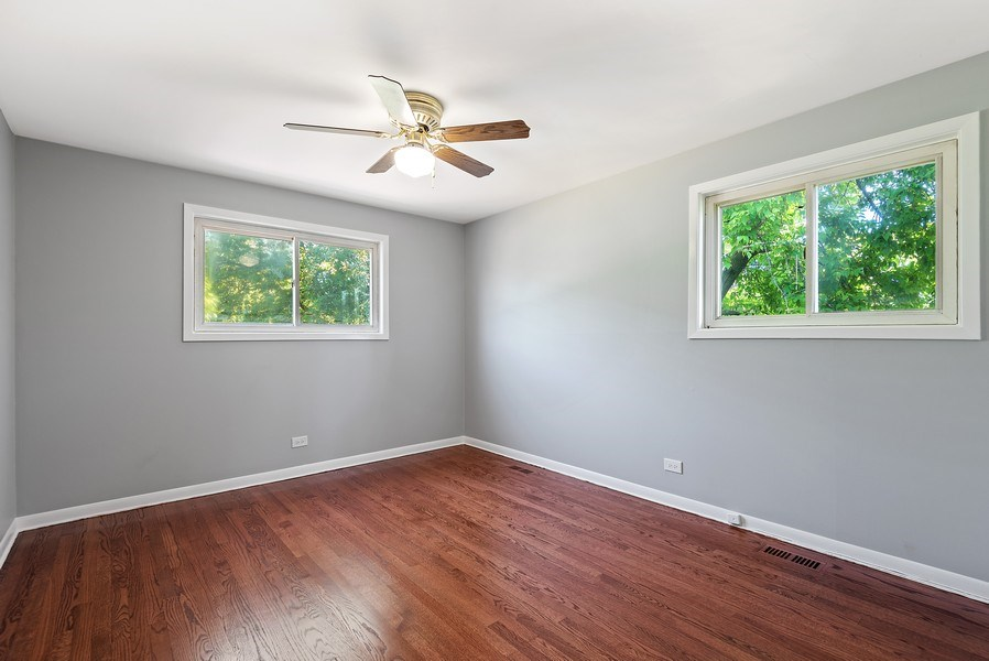Real Estate Photography - 8337 Harrison St, Niles, IL, 60714 - Bedroom