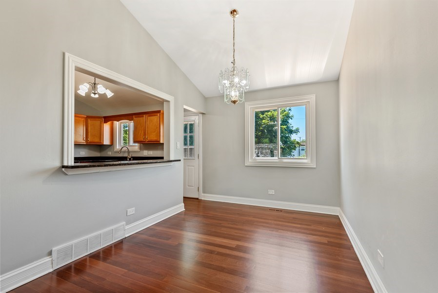 Real Estate Photography - 8337 Harrison St, Niles, IL, 60714 - Dining Room