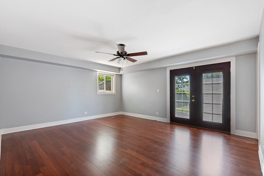 Real Estate Photography - 8337 Harrison St, Niles, IL, 60714 - Family Room