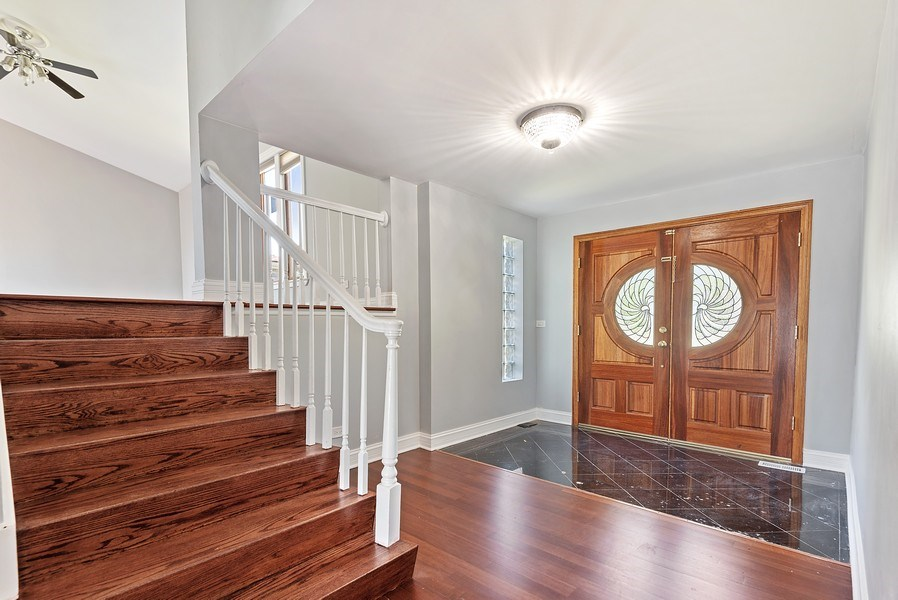 Real Estate Photography - 8337 Harrison St, Niles, IL, 60714 - Foyer