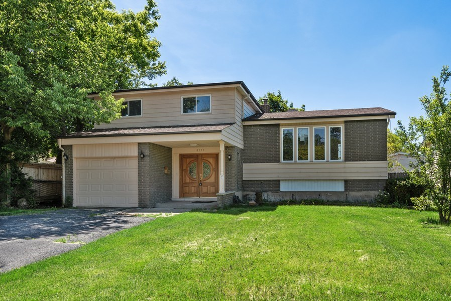 Real Estate Photography - 8337 Harrison St, Niles, IL, 60714 - Front View