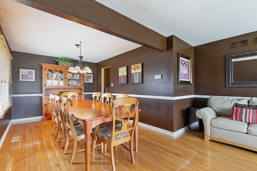 Real Estate Photography - 8124 Tudor Lane, Tinley Park, IL, 60477 - Dining Room