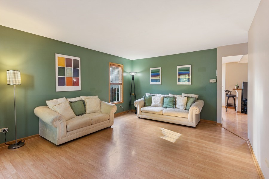 Real Estate Photography - 4414 W. Ole Farm Rd, Plainfield, IL, 60586 - Living Room