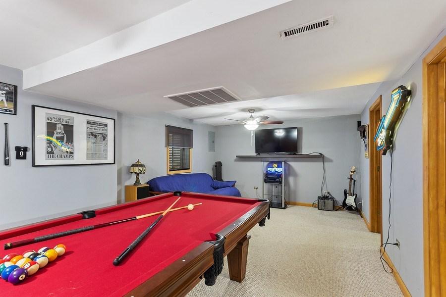 Real Estate Photography - 4414 W. Ole Farm Rd, Plainfield, IL, 60586 - Basement