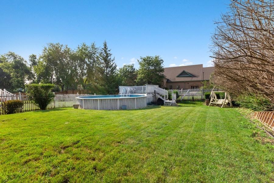 Real Estate Photography - 4414 W. Ole Farm Rd, Plainfield, IL, 60586 - Back Yard