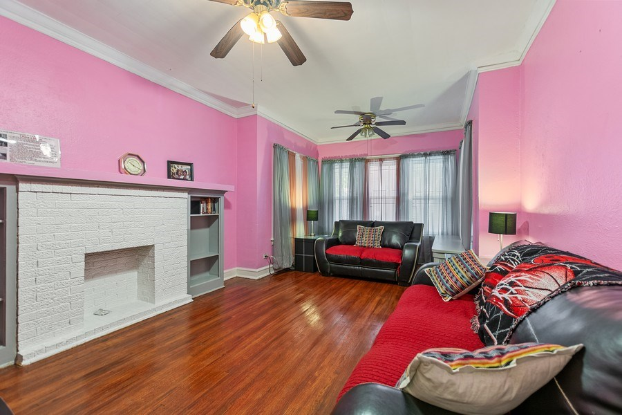 Real Estate Photography - 8046 S Langley Ave, Unit 1, Chicago, IL, 60619 - Living Room