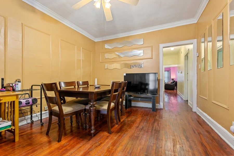 Real Estate Photography - 8046 S Langley Ave, Unit 1, Chicago, IL, 60619 - Dining Room